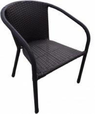 Кафяв ратанов стол