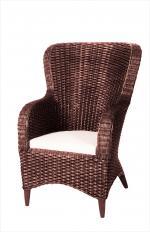 Луксозен стол от ратан